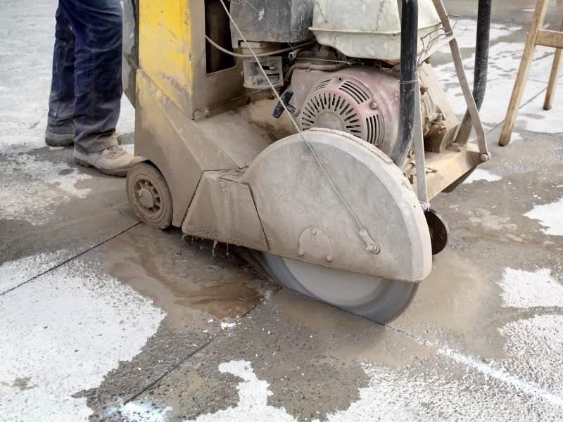 Professional Cutting up Concrete