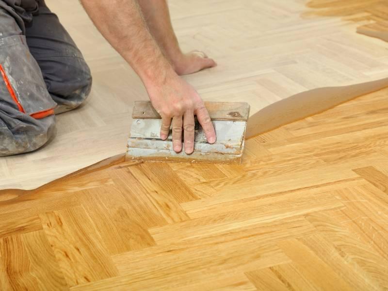 Room Prep Steps include preparing the floors