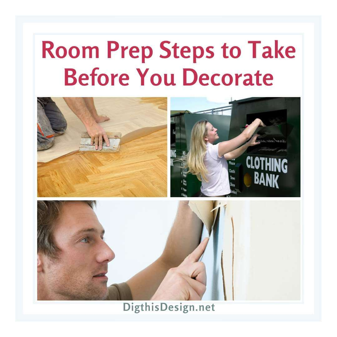 Room Prep Steps to Take Before You Decorate