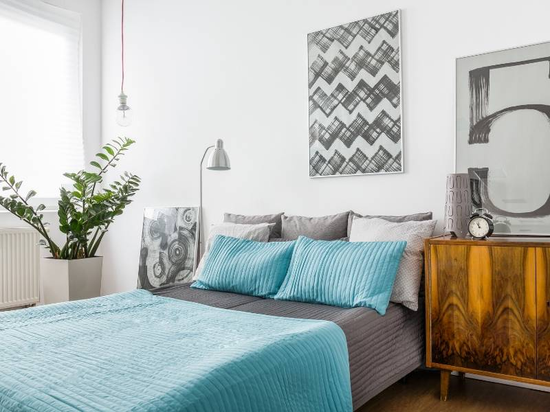 Try a Blue Bedroom
