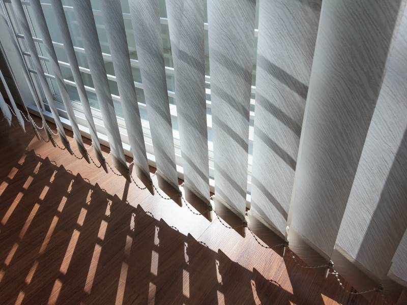 Vertical Clothe Blinds