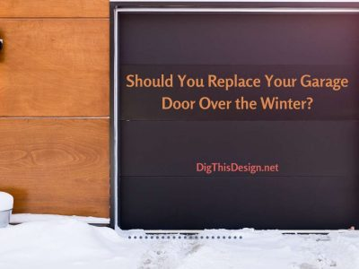 Should you replace your garage door over the winter