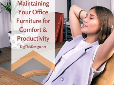 Maintaining your office furniture