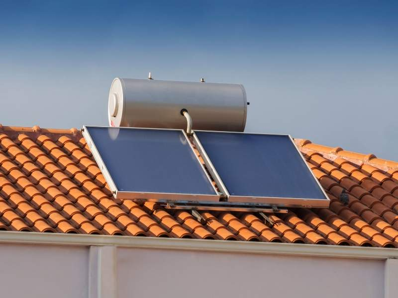 Solar Power Water Heater