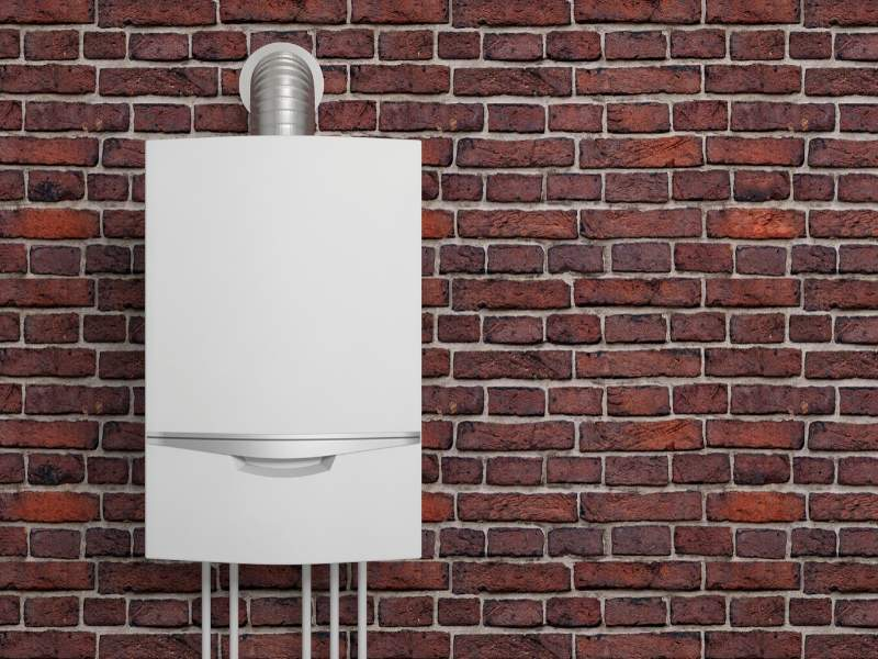 Modern New Water Heater
