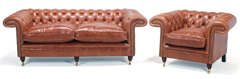 Chesterfield Sofa for the Living Room