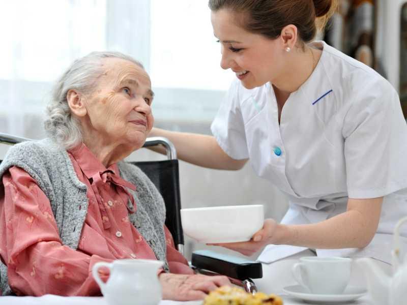 Nurse Care for Elderly