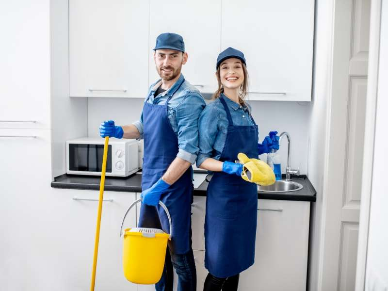 House cleaning professionals