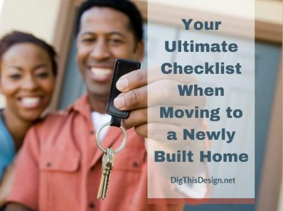 Moving to a Newly Built Home