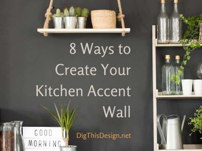 8 Ways to Create Your Designer Kitchen Accent Wall
