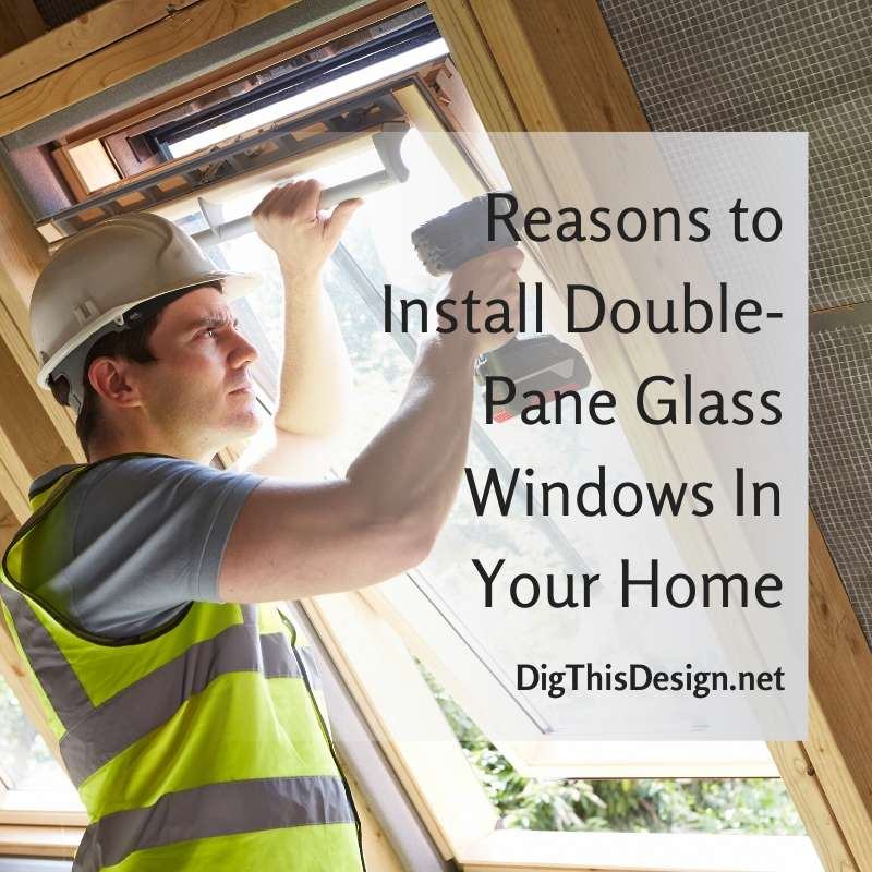 Highly Efficient Double-Pane Glass