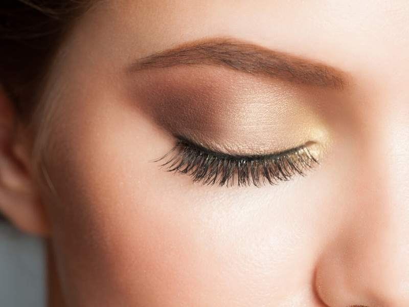 Go for the Gold Eye Trends