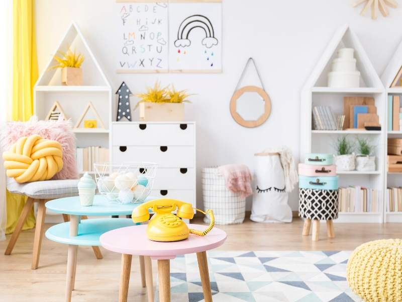 Inspirations for the Perfect Playroom in Your Home