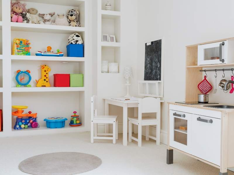 Create a Reading Nook in the Playroom