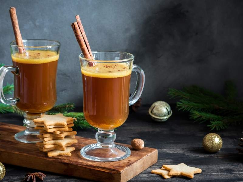 Hot Buttered Rum Seasonal Cocktails