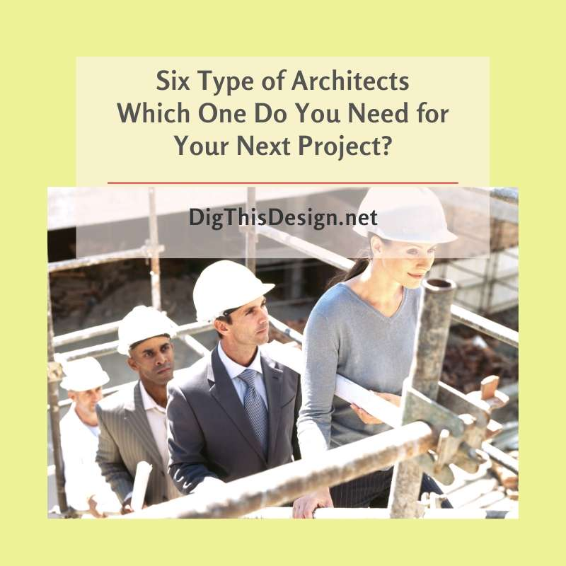 Six Type of Architects