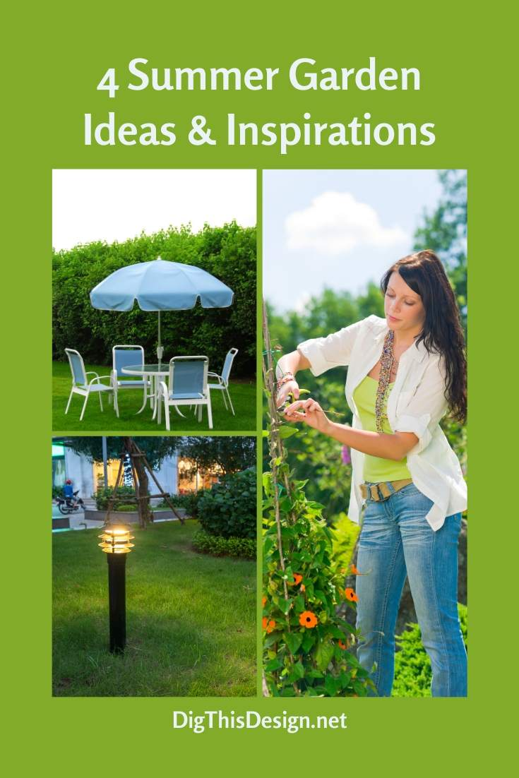 4 Summer Garden Ideas & Inspirations