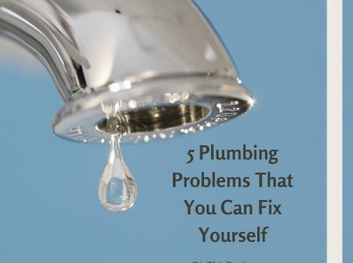 5 Plumbing Problems That You Can Fix Yourself