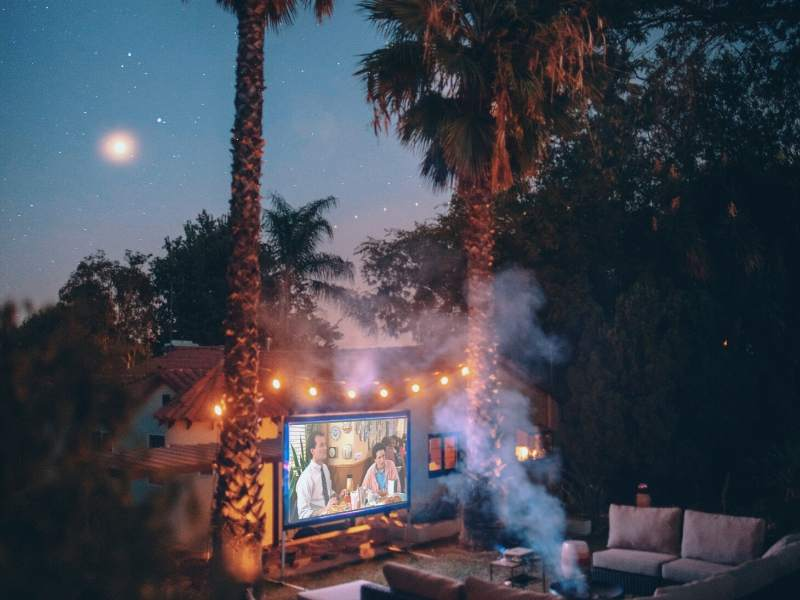 Backyard Movie Nights