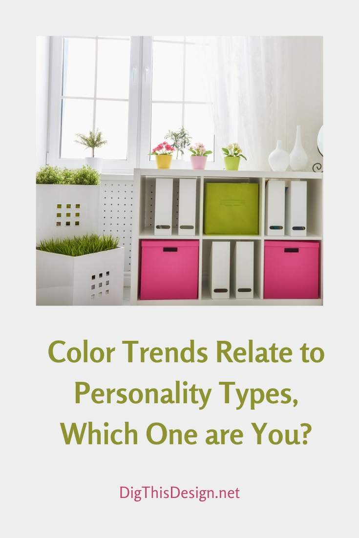 3 Personalities Related to Color Trends
