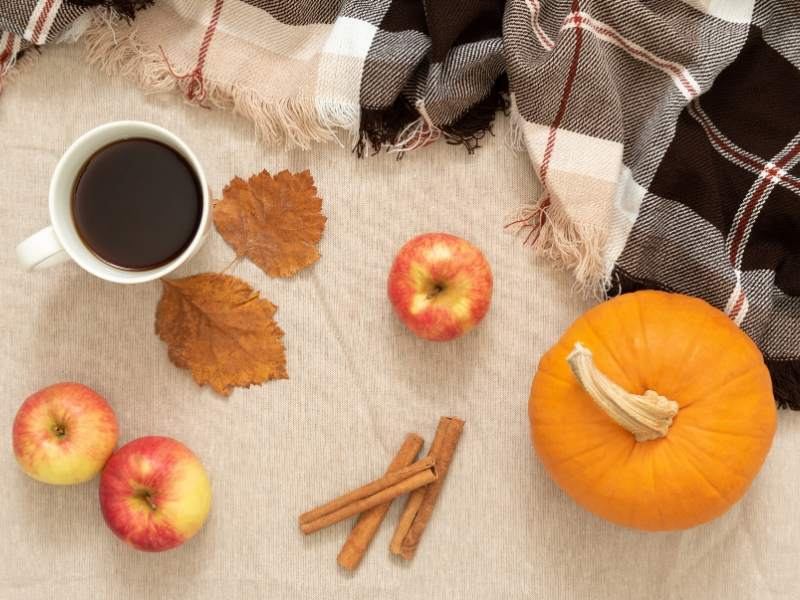 Consider Smell & Comfort for Fall Decorating