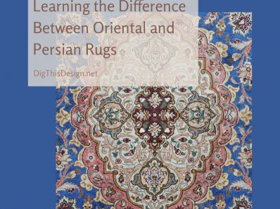 Learning the Difference Between Oriental and Persian Rugs