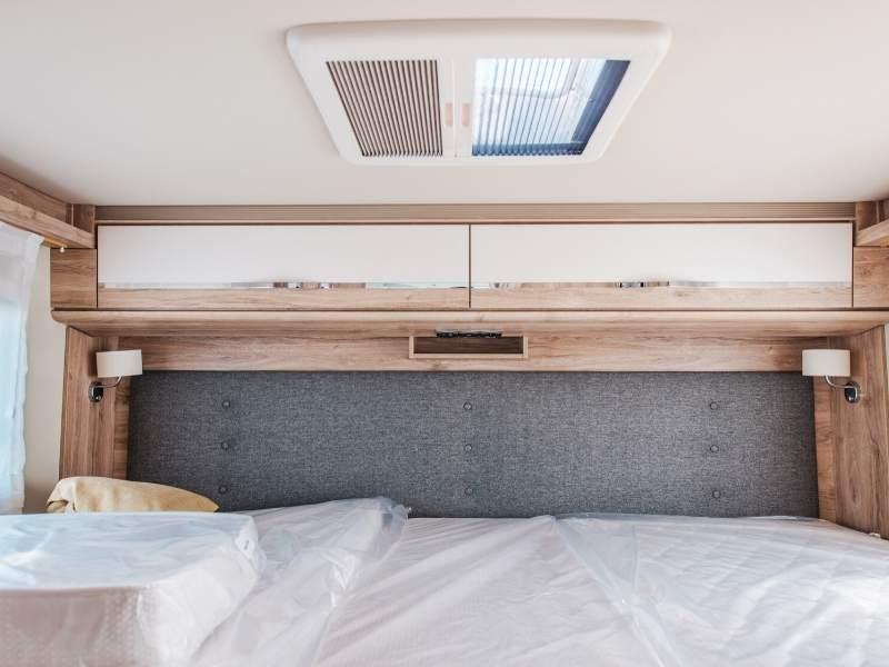 Nice and Comfy Camper Van Bed