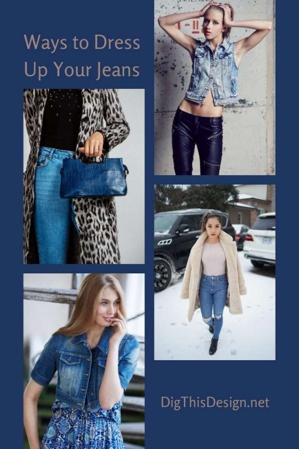 Simple Ways to Dress Up Your Jeans