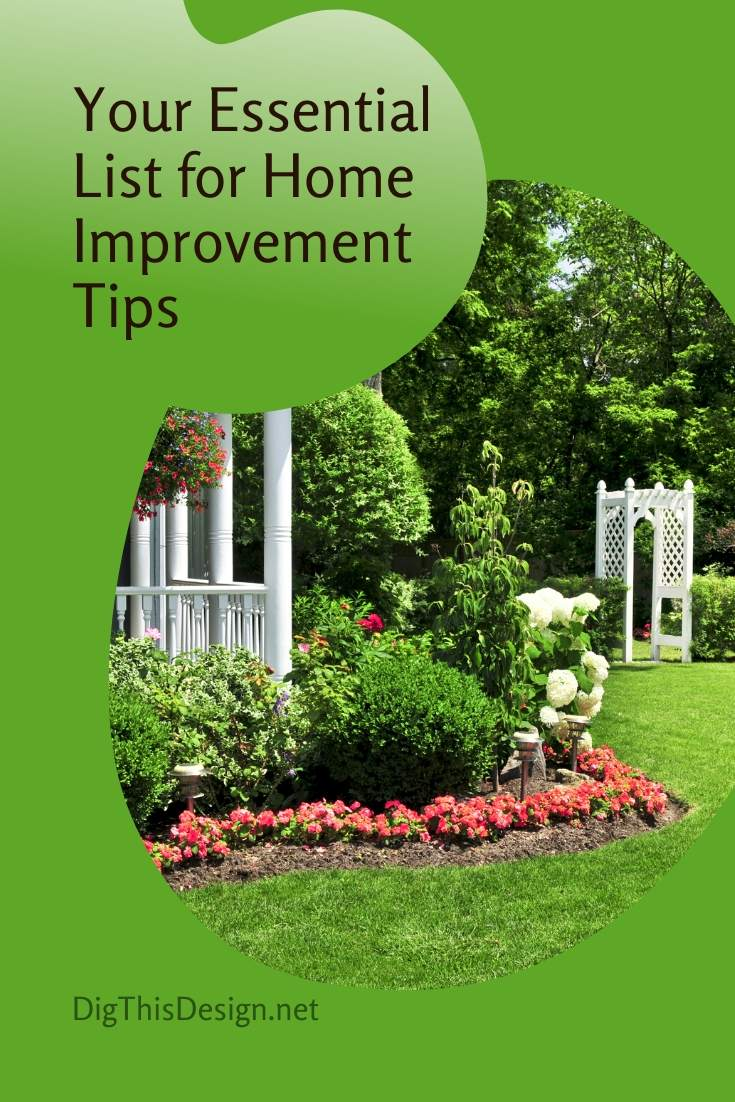 Your Essential List for Home Improvement Tips