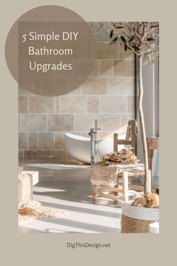 5 Simple DIY Bathroom Upgrades