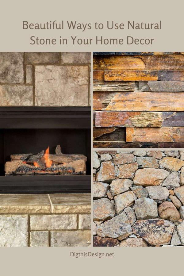 Beautiful Ways to Use Natural Stone in Your Home Decor