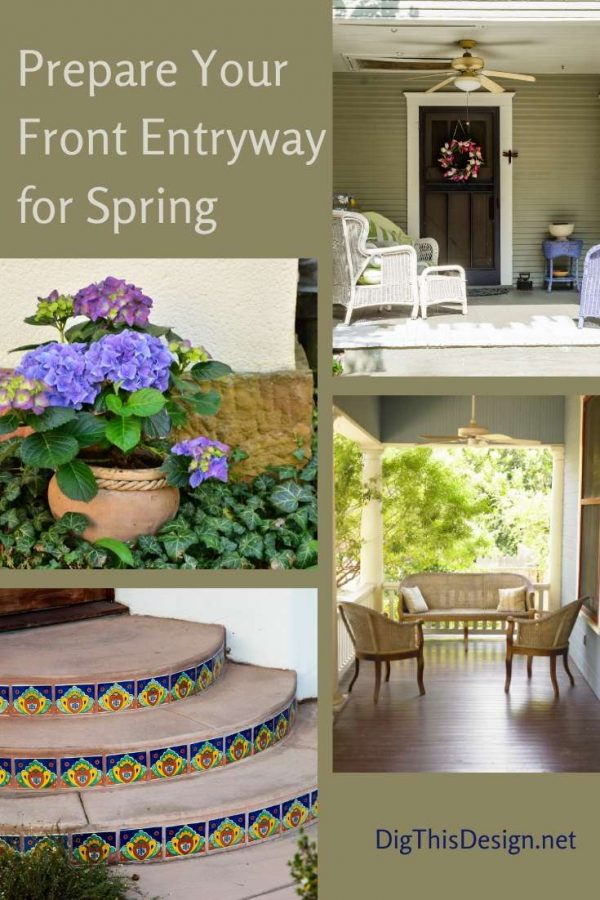 How to Prepare Your Front Entryway for Spring
