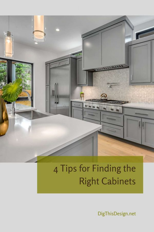 4 Tips for Finding the Right Cabinets