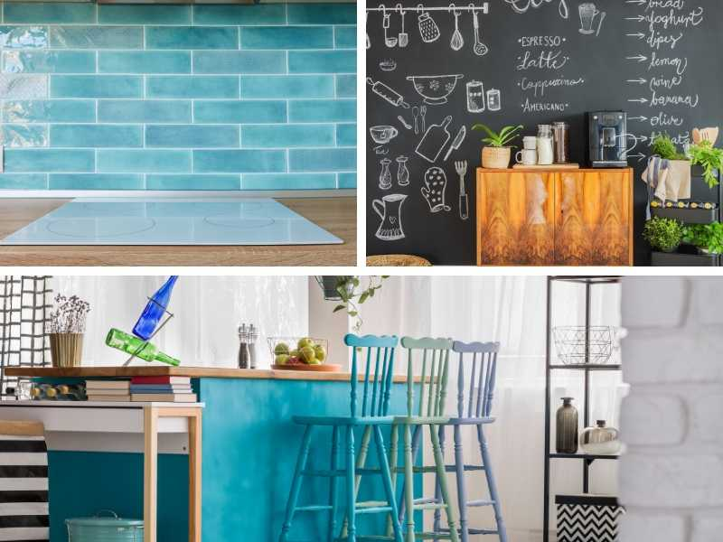 Bold Colorful Kitchens - 3 Ways To Make The Most Impact for Less