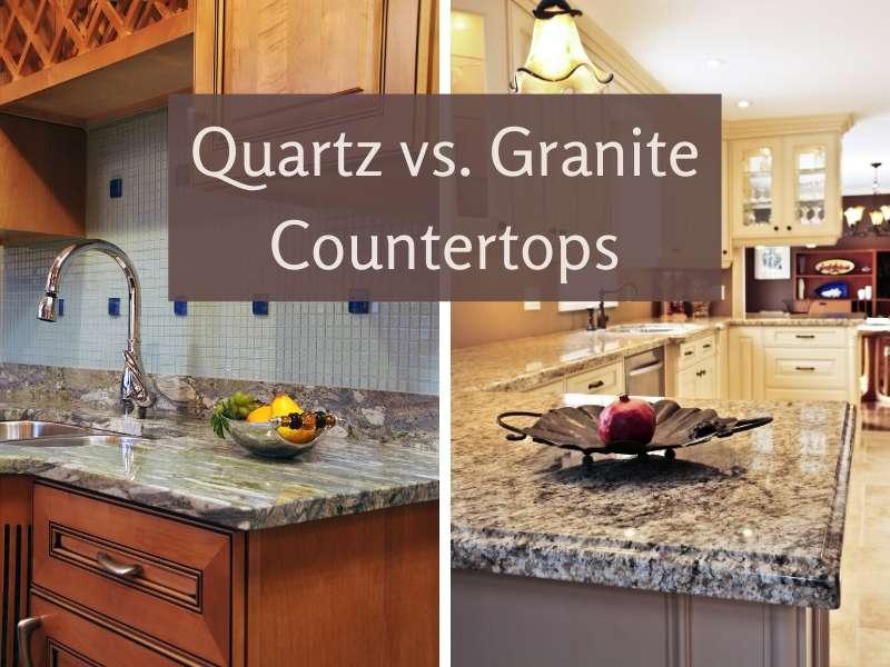 Comparison Between Granite and Quartz Countertops