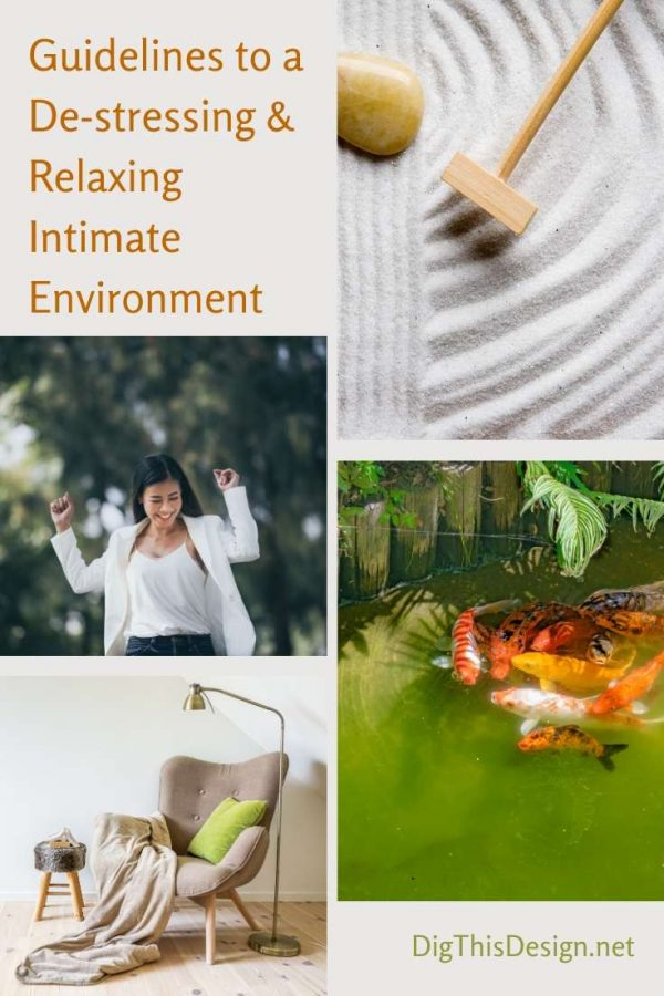 Guidelines to a De-stressing & Relaxing Intimate Environment