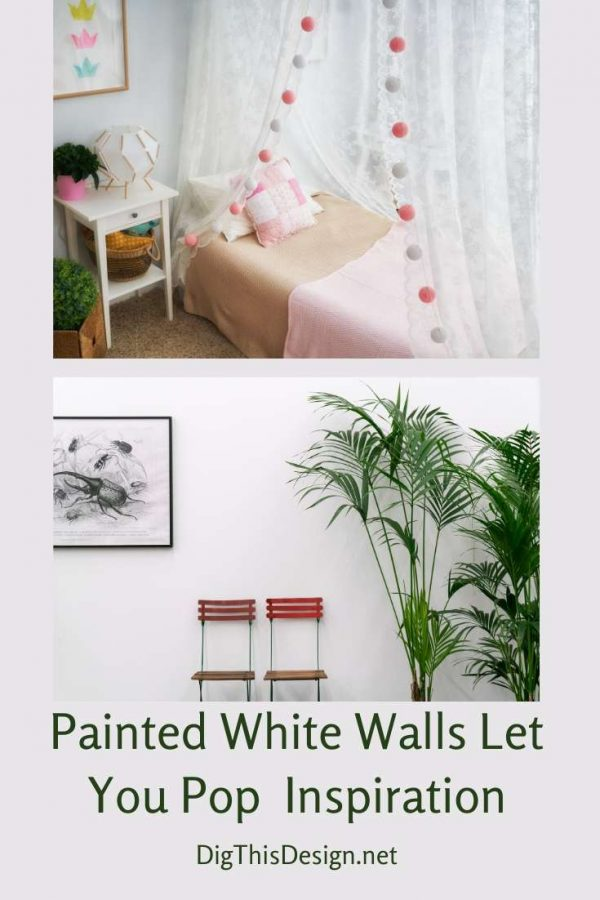 Creating a Relaxed Style with White Walls