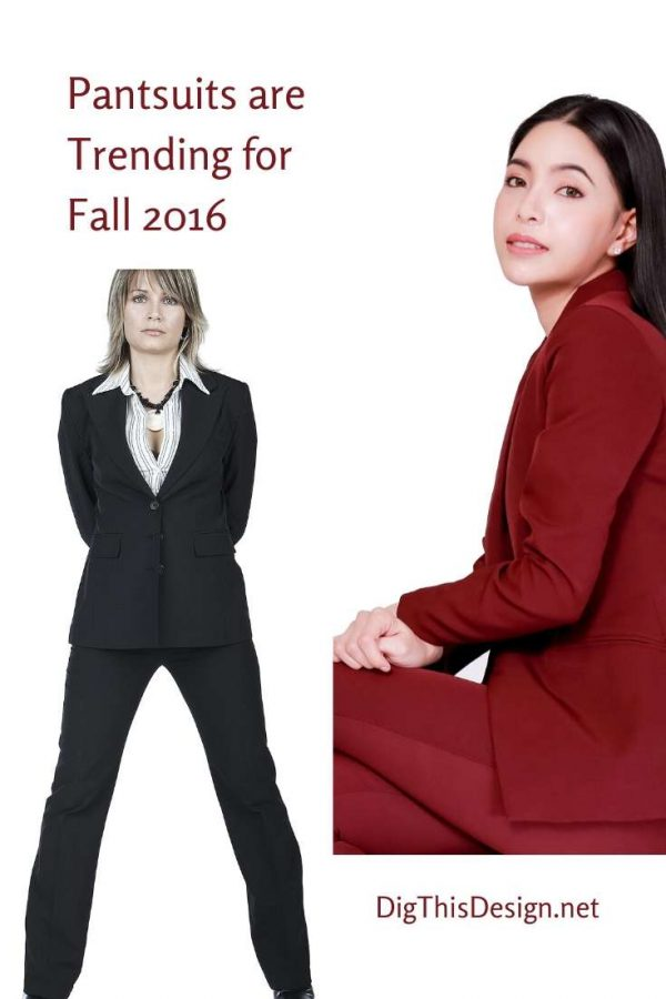 Pantsuits Have No Limitations in Style