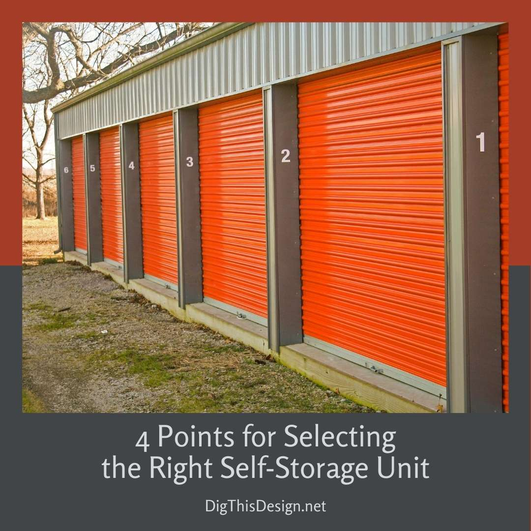 Selecting the Right Self-Storage Unit