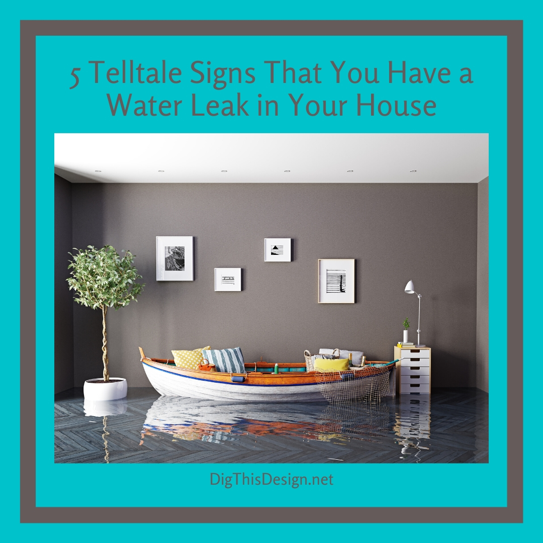 5 Telltale Signs That You Have a Water Leak in Your House