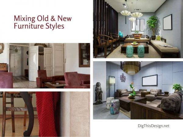 Living With Modern & Antique Furniture