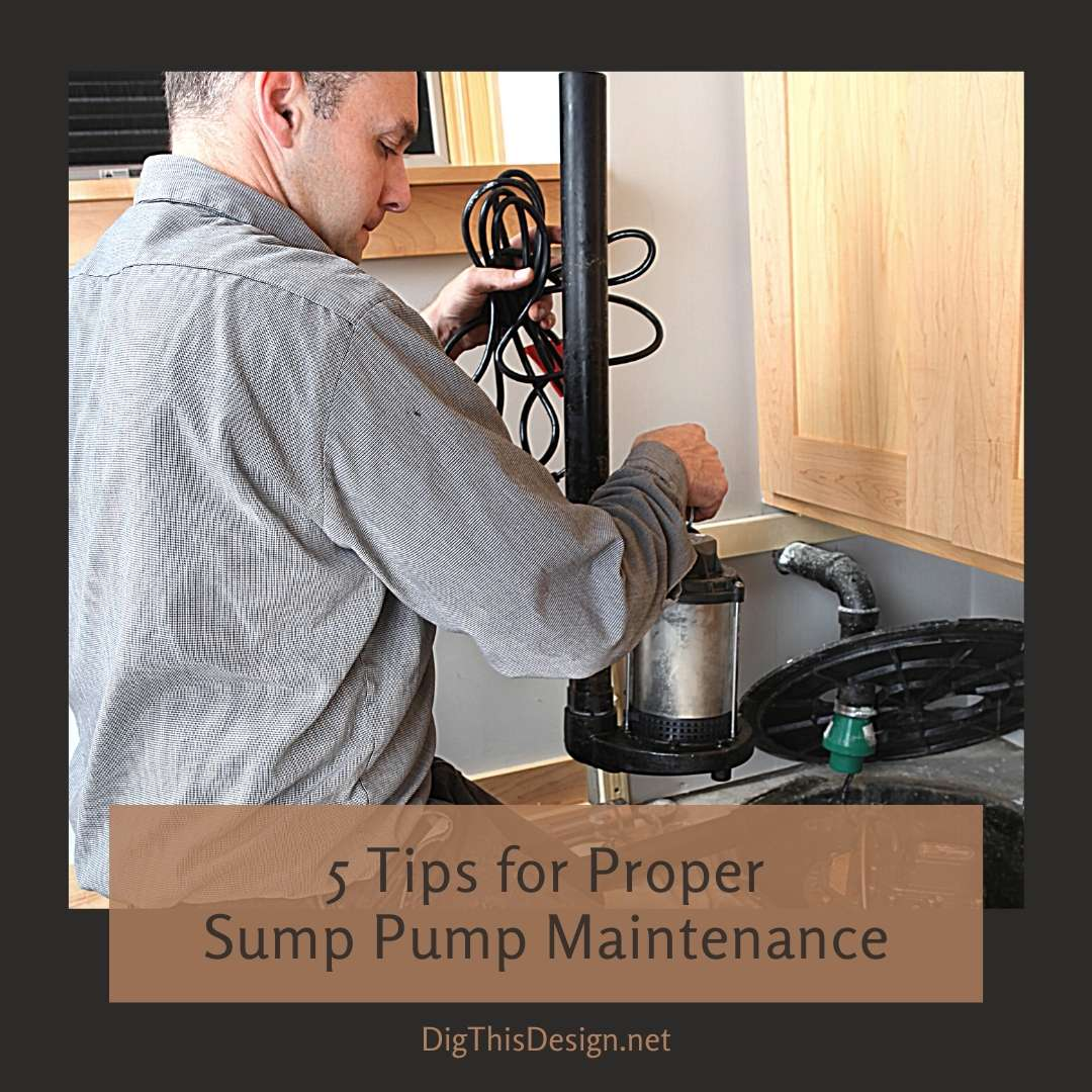 5 Tips for Proper Sump Pump Maintenance