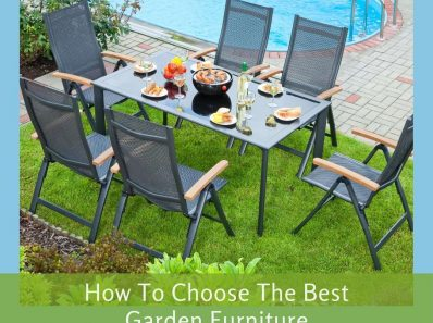 Garden Furniture For Your Outdoor Living Space