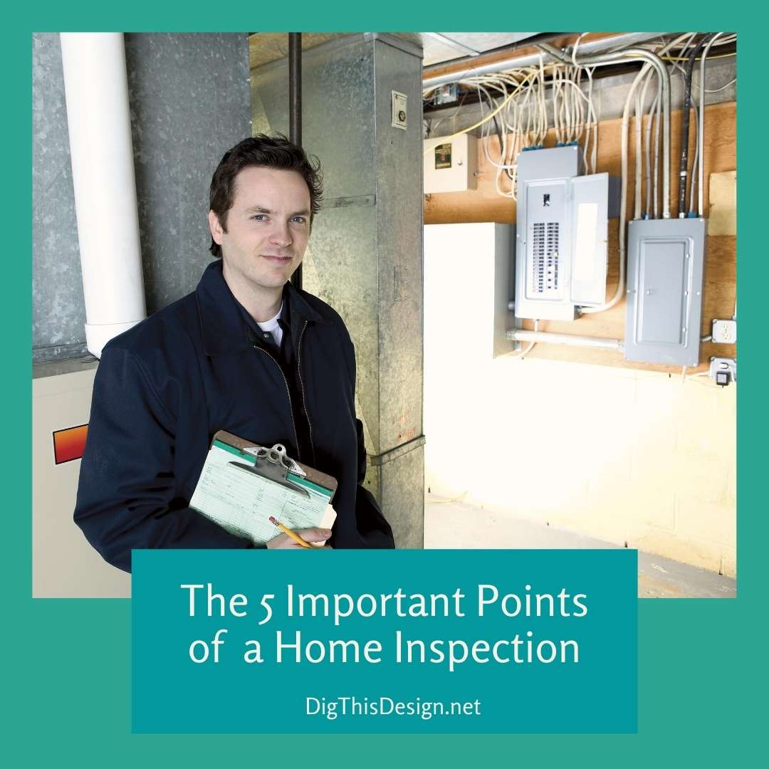 The 5 Important Points of Home Inspections