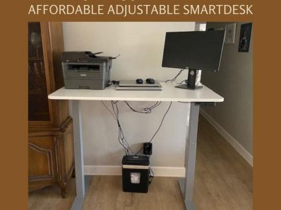 Work Comfortably from Home with an Affordable Adjustable SmartDesk