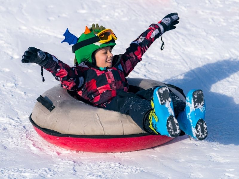 5 Fun Outdoor Activities to Try This Winter - Snow Tubing