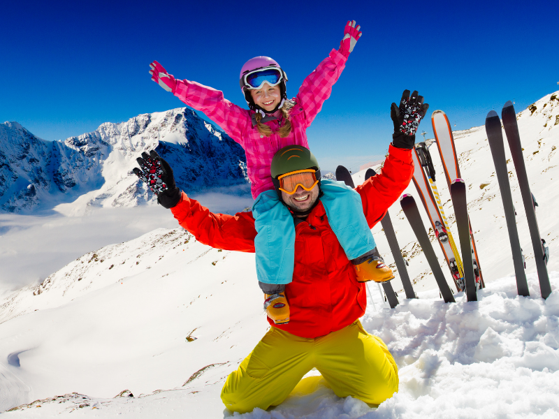 5 Fun Outdoor Activities to Try This Winter - Skiing