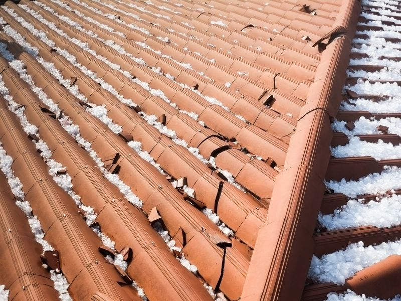 How Much Does Hail Damage Roof Repair Cost