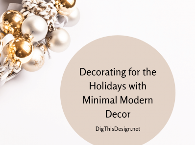 Modern Holiday Decor Delight