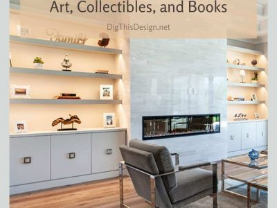 Shelf Designs for Art, Collectibles, and Books